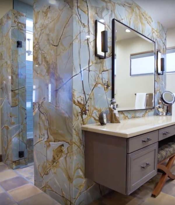 United Stoneworks Box Shower Granite Countertops By United Stoneworks In Albuquerque, New Mexico