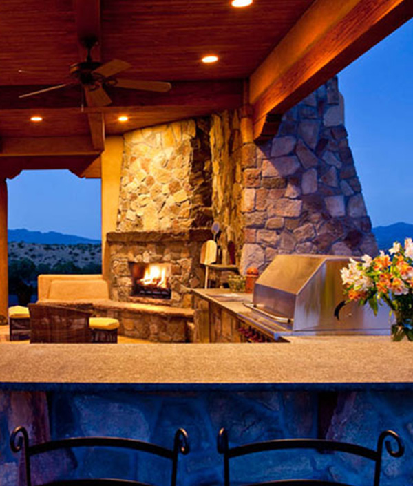 United Stoneworks Box Newhavenhomes Outdoor Kitchen1 Countertops By United Stoneworks In Albuquerque, New Mexico