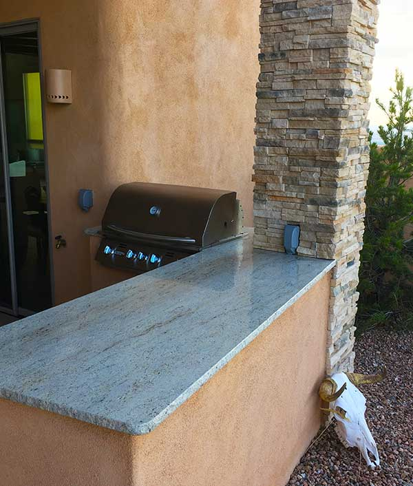 United Stoneworks Box Outdoor Countertop Bbq Countertops By United Stoneworks In Albuquerque, New Mexico