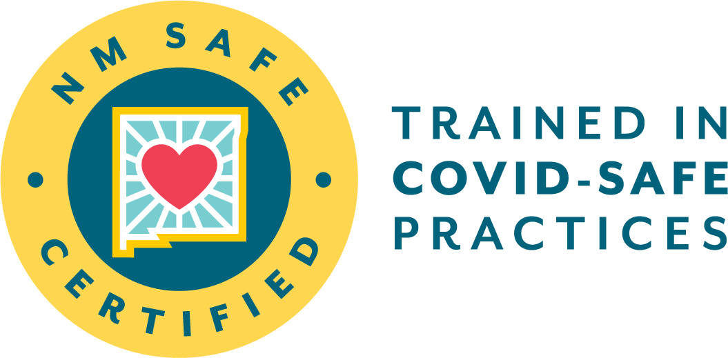 Nm Safe Certified Trained In Covid-Safe Practices Logo